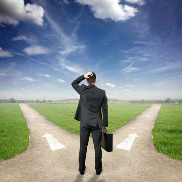 Vända förlust till vinst_ Du måste välja väg för framtiden.
